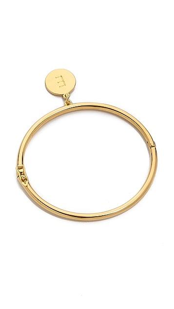 Kate Spade New York Charm Letter Bangle Bracelet