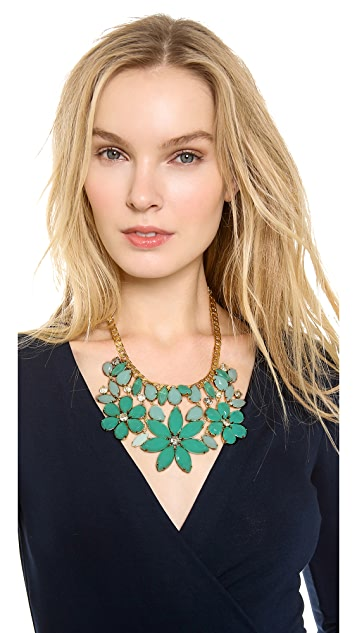 Kate Spade New York Gardens of Paris Statement Necklace