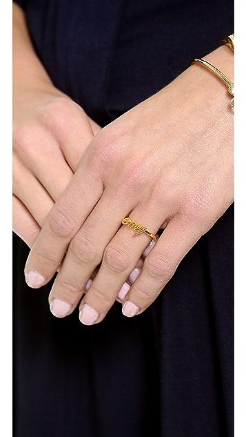 Kate Spade New York Things We Love Adjustable Love Ring