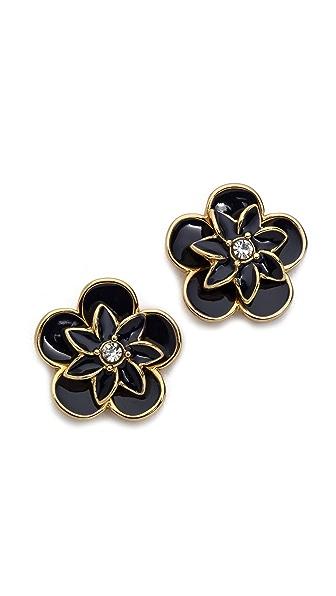 Kate Spade New York Graceful Floral Large Stud Earrings