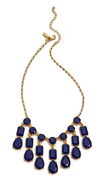 Kate Spade New York Riviera Garden Mini Bib Necklace