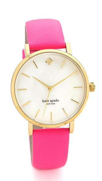 Kate Spade New York Neon Bazooka Metro Watch
