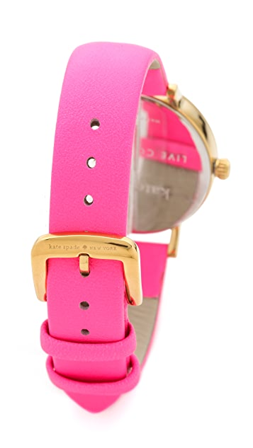 Kate Spade New York Neon Bazooka Metro Watch