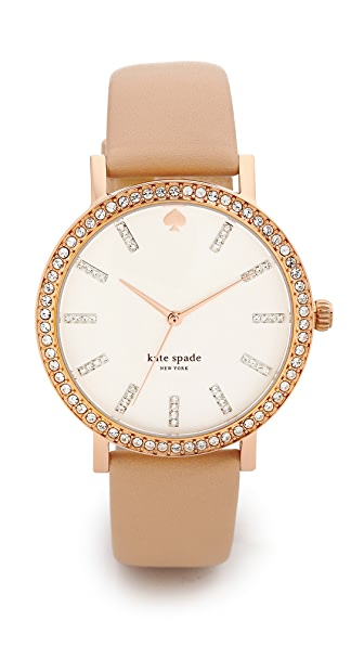 Kate Spade New York Metro Grand Crystal Marker Watch