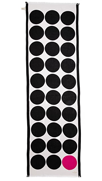 Kate Spade New York Six Month Dot Scarf