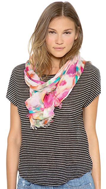 Kate Spade New York Giverny Floral Scarf