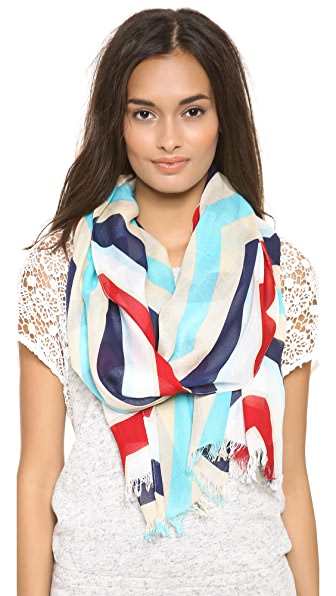 Kate Spade New York Hexagon Geometric Scarf