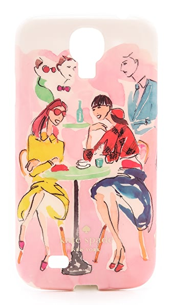 Kate Spade New York Cafe Scene Samsung Phone Case