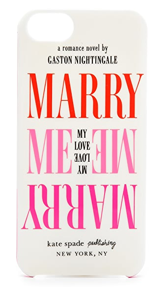 Kate Spade New York Marry Me iPhone 5 Case