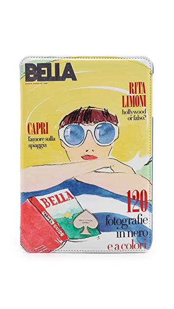 Kate Spade New York Bella Print iPad Folio Hard Case