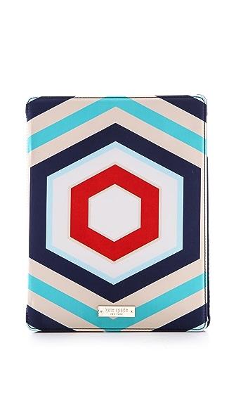 Kate Spade New York Hexagon Geometric iPad Folio Case