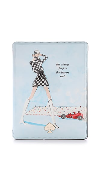 Kate Spade New York Racer Girl iPad Folio Case
