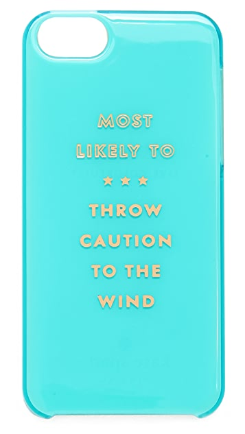 Kate Spade New York Most Likely To iPhone 5 / 5S Case