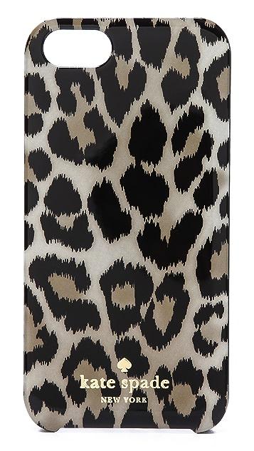 Kate Spade New York Leopard Ikat iPhone 5 / 5S Case