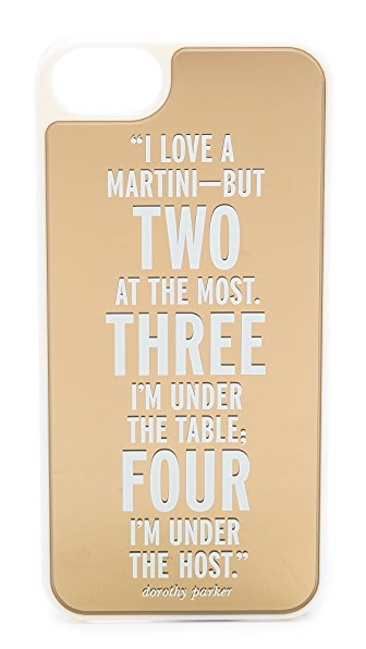 Kate Spade New York I Love A Martini iPhone 5 / 5S Case
