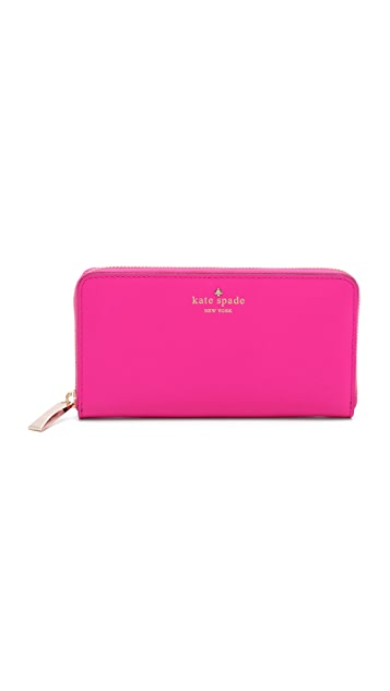 Kate Spade New York Cherry Lane Lacey Zip Around Wallet