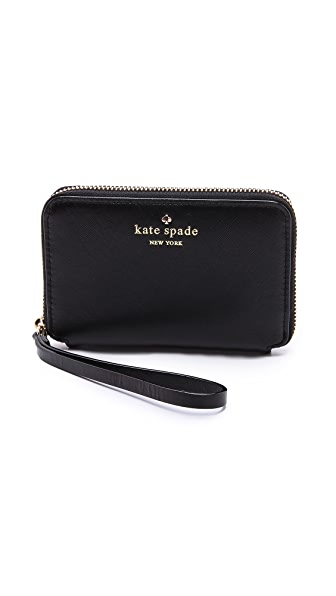Kate Spade New York Cherry Lane Louie Zip Around Wristlet