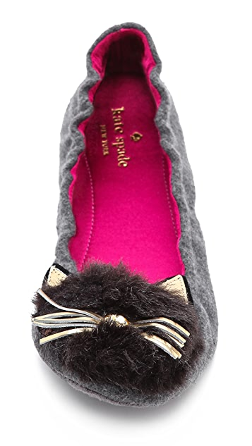Kate Spade New York Cat Slippers