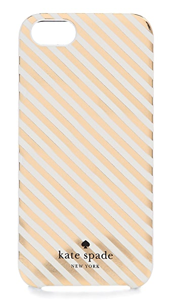 Kate Spade New York Diagonal Stripe iPhone 5 / 5S Case