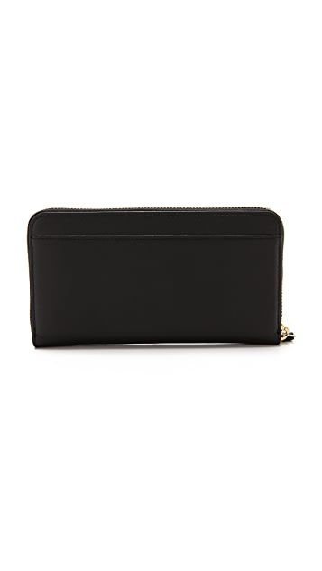 Kate Spade New York Fine Feather Lacey Wallet