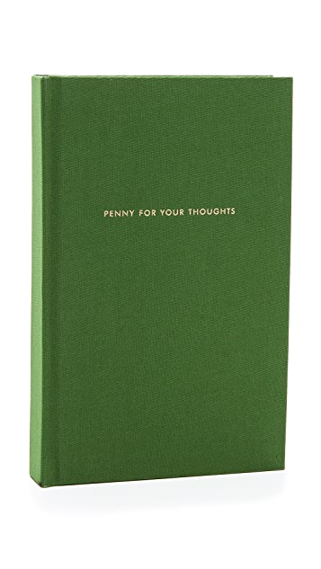Kate Spade New York Penny for Your Thoughts Journal