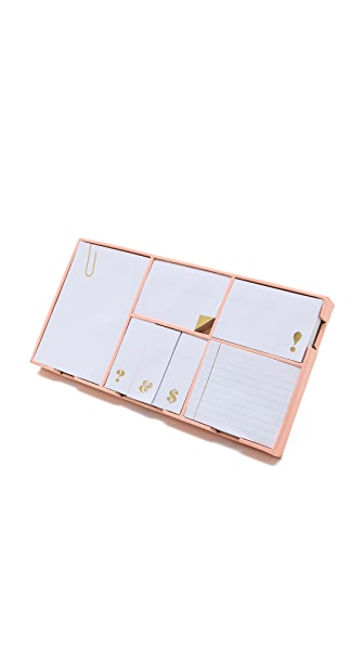 Kate Spade New York Sticky Note Set