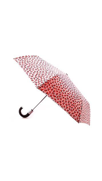Kate Spade New York Rose Travel Umbrella