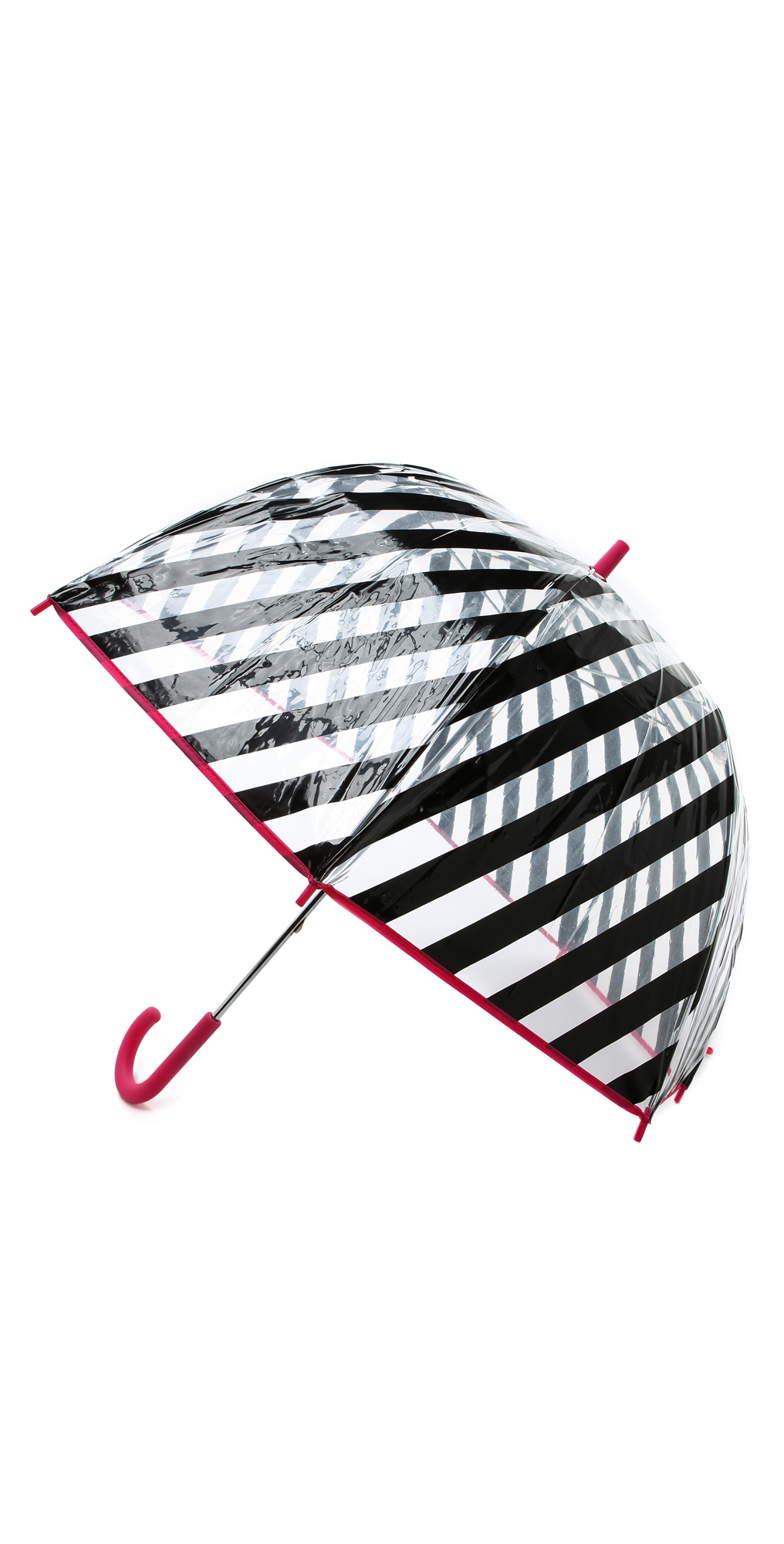 Black Stripe Umbrella Kate Spade New York