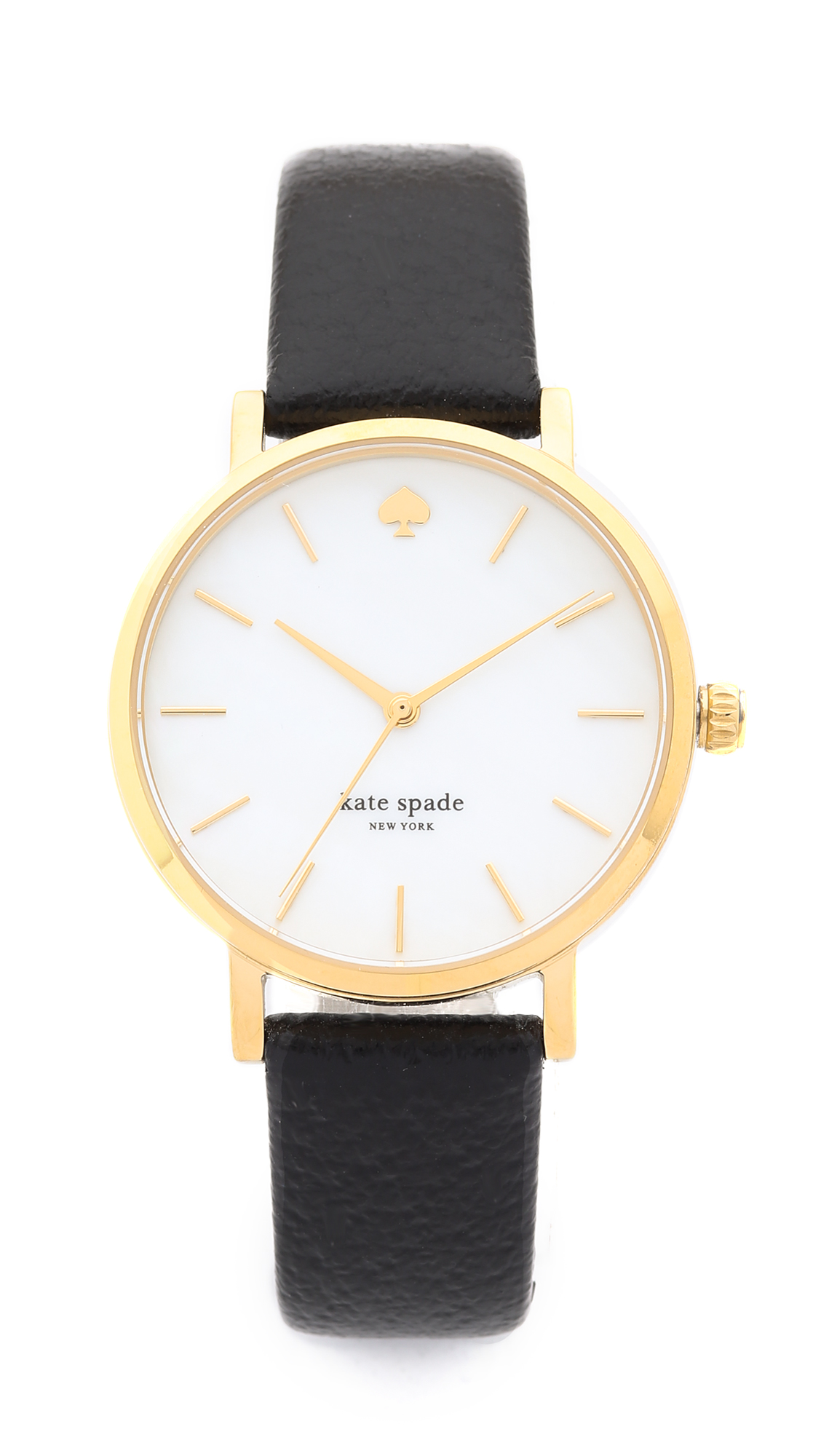 Kate Spade New York Classic Metro Watch - Gold/Black at Shopbop