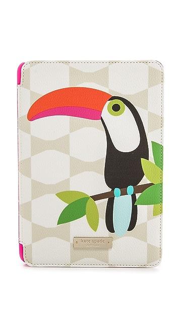 Kate Spade New York Novelty Toucan iPad Mini Folio Hardcase