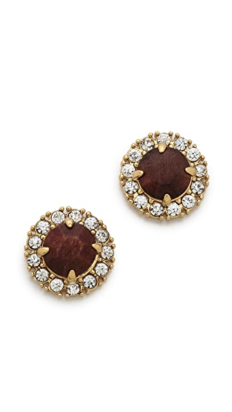 Kate Spade New York Secret Garden Stud Earrings
