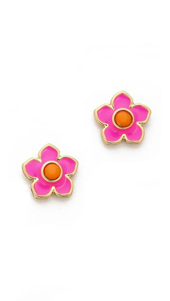 Kate Spade New York Tropical Floral Stud Earrings