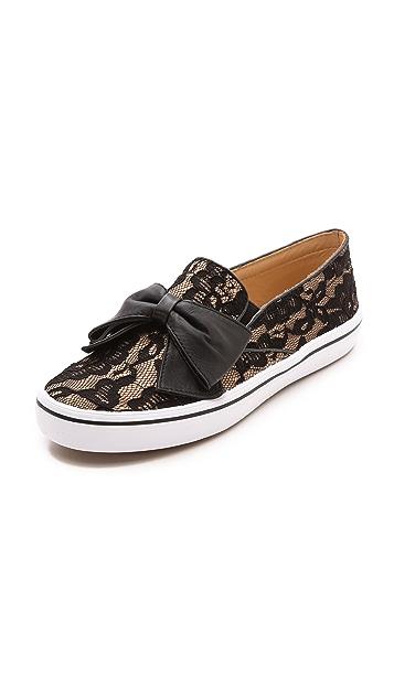 Kate Spade New York Delise Bow Slip on Sneakers