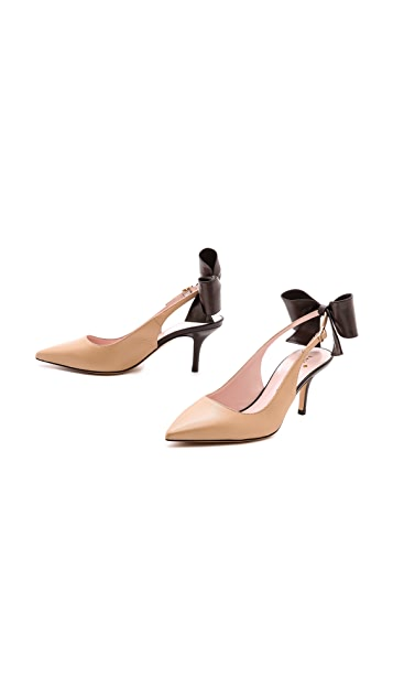 Kate Spade New York Jax Slingback Bow Pumps