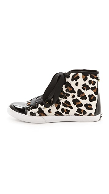 Kate Spade New York Linus Haircalf High Top Sneakers