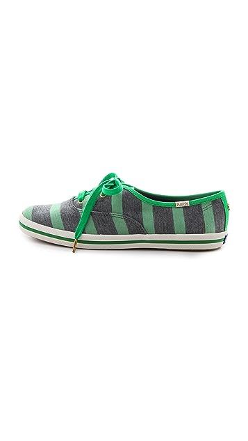 Kate Spade New York Keds for Kate Spade Kick Striped Sneakers
