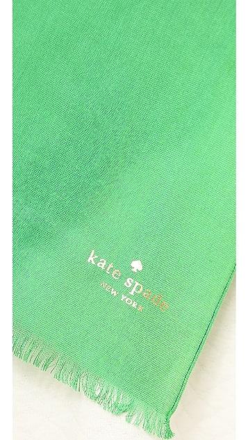 Kate Spade New York Six Month Stripe Scarf