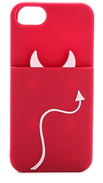 Kate Spade New York Devil Pocket Silicone iPhone 5 / 5S Case