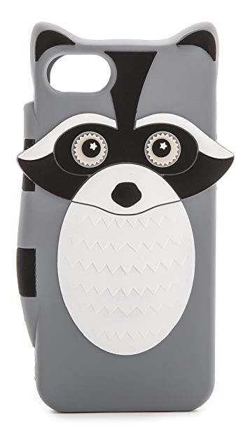 Kate Spade New York Raccoon Silicone iPhone 5 / 5S Case