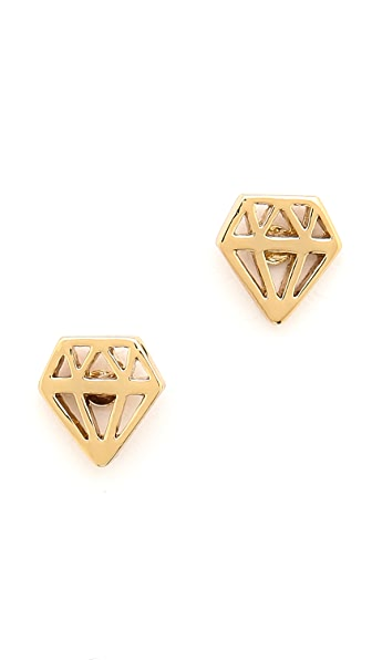 Kate Spade New York Kiss a Prince Engagement Ring Stud Earrings