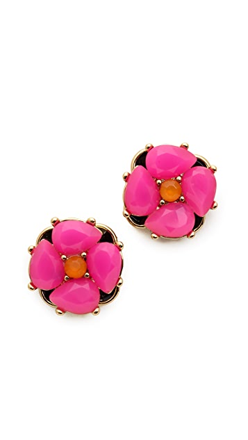 Kate Spade New York Izu Petal Stud Earrings