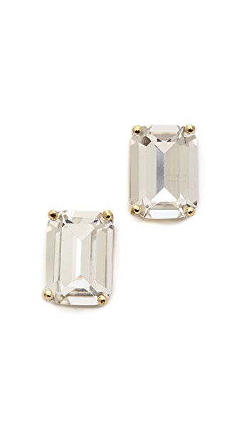 emerald cut stud earrings kate spade new york emerald cut stud earrings shopbop 1598