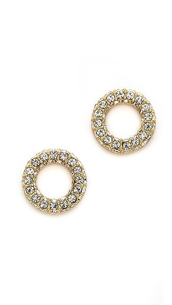 Kate Spade New York Platform Chain Stud Earrings