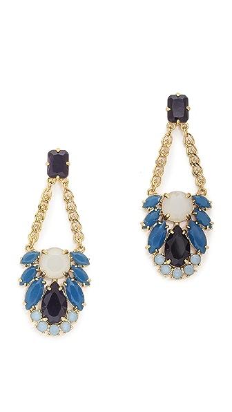Kate Spade New York Steamer Glow Statement Earrings