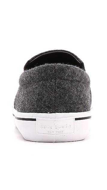 Kate Spade New York Slater Flannel Slip On Sneakers