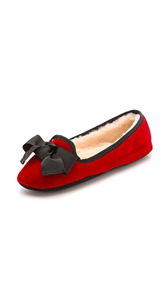 Kate Spade New York Sabine Velvet Slippers
