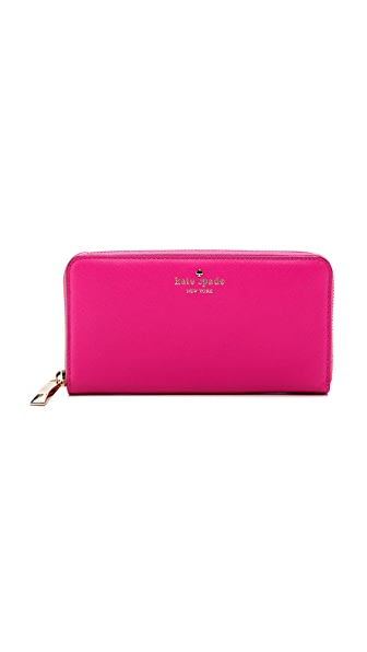 Kate Spade New York Lacy Zip Around Continental Wallet