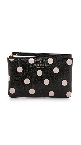 Kate Spade New York Bee Polka Dot Wristlet