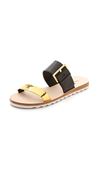 Kate Spade New York Attitude Two Band Sandals