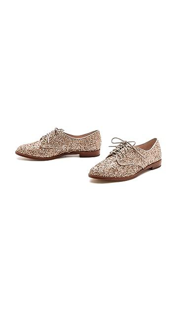 Kate Spade New York Paxton Glitter Oxfords